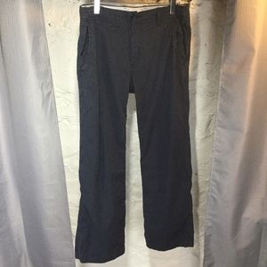 Gap Khakis Blue Pinstriped Pants